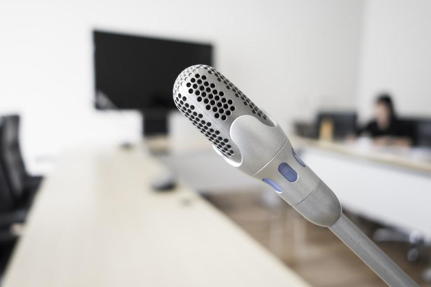 Bosch DCN Mikrofon