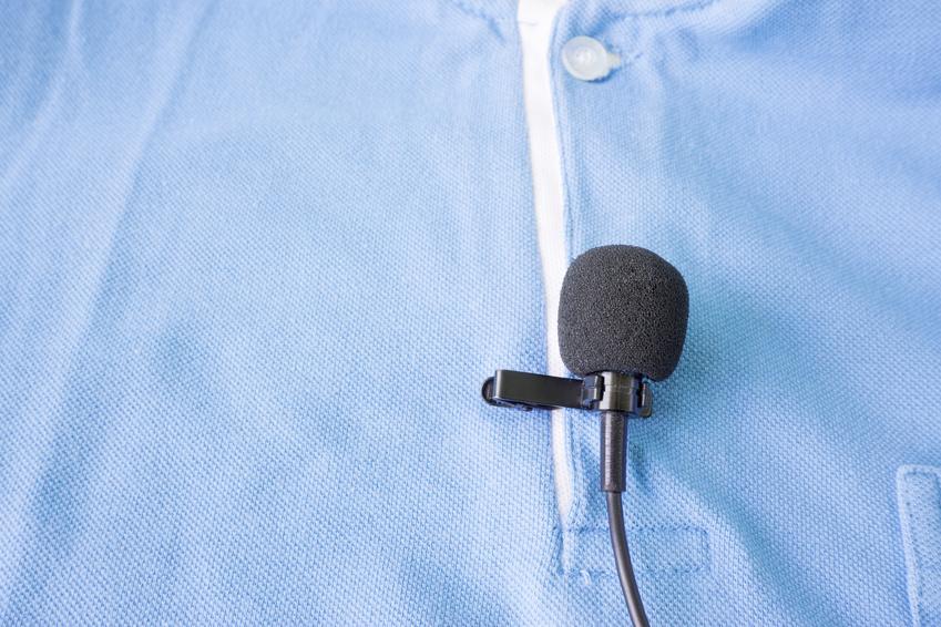 Ansteckmikrofon